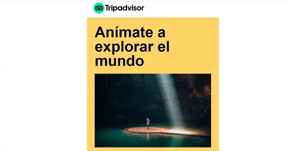Anímate a explorar el mundo con Tripadvisor
