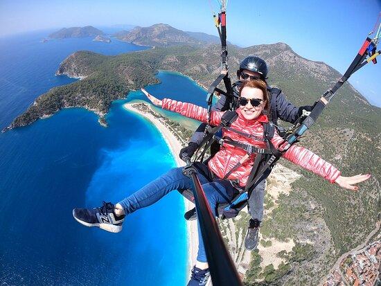 Parapente en Turquía